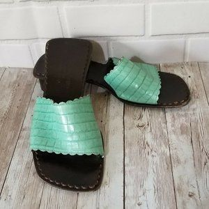 Donald J Pliner Ovatta Sandals Shoes Slides